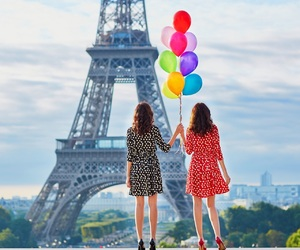 paris, together forever, and friends image