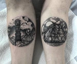 aesthetic, LOTR, and tattoo image
