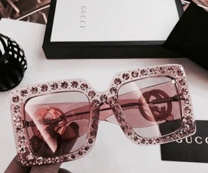 black, sunnies, and rose gold image