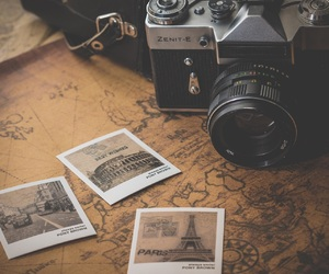 vintage, camera, and photography image