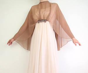 etsy, vintage dress, and vintage gown image