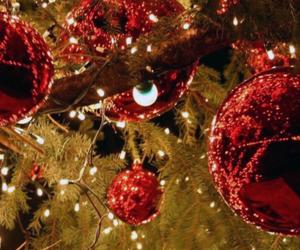 christmas, tree, and headers image