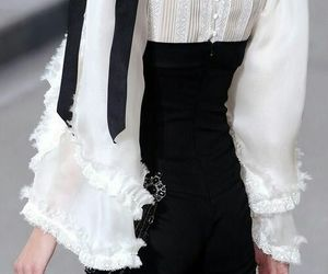 fashion, model, and details image