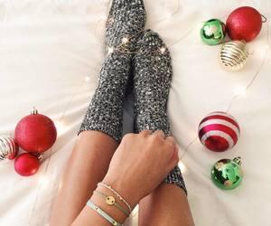 christmas, holiday season, and girl image