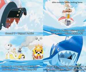 one piece and thousand sunny image