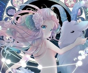 zodiac, capricorn, and anime image
