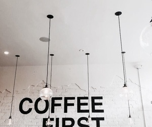coffee, light, and white image
