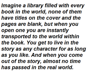 books, quotes, and library image