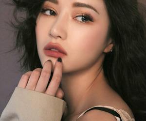 girl, make up, and korean image