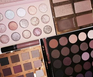 beauty, colors, and eyeshadow image