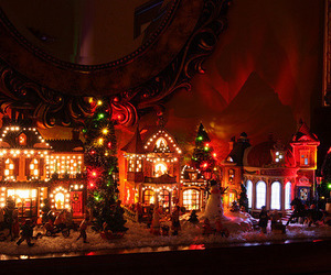 christmas, christmas lights, and seasons image