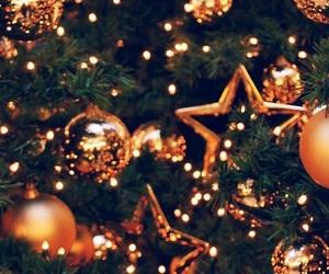 christmas, tree, and wallpaper image