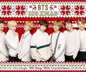 christmas and bts image