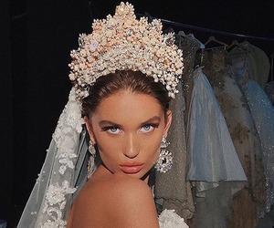 fashion, wedding, and dress image