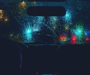 car, drive, and lights image