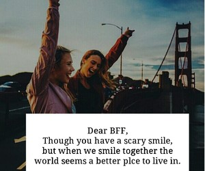 best friends, besties, and bff image