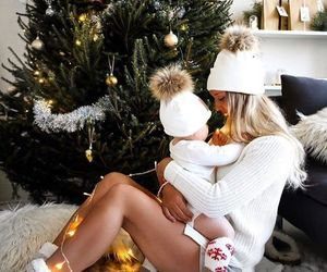 christmas, outfit, and family image