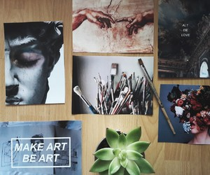 aesthetic, art, and cactus image