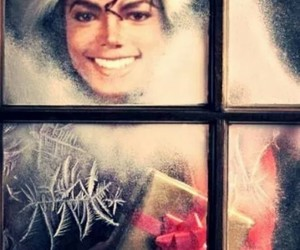 christmas, king of pop, and cute image