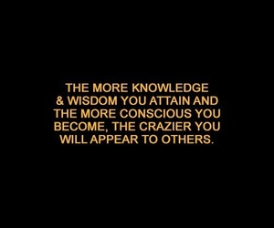 black, knowledge, and life image