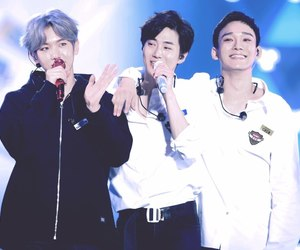 Chen, baekhyun, and suho image