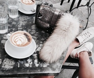 coffee, drink, and shoes image