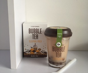 aesthetic, bubble tea, and soft image