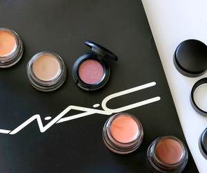 beauty, make up, and mac cosmetics image