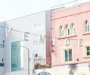 pastel, pink, and venice image