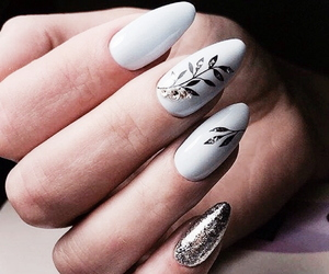 aesthetic, long nails, and tumblr image