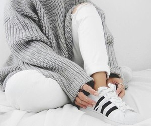 adidas, fashion, and white image