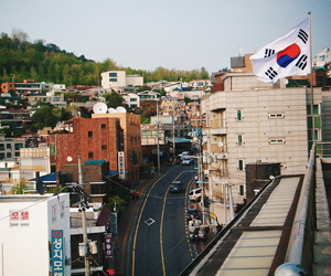 architecture, photography, and seoul image
