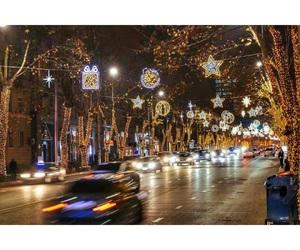 Georgia, new year, and tbilisi image