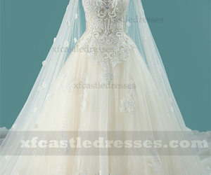 ball gown wedding dresses, a line wedding dress, and beaded wedding dresses image
