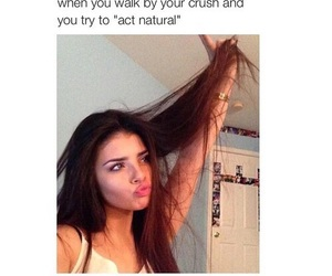 crush, funny, and natural image