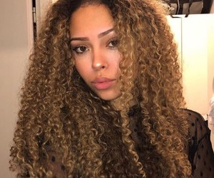 beautiful, beauty, and curls image