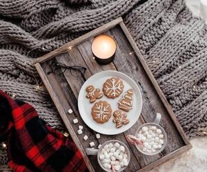 cozy, yum, and christmas image