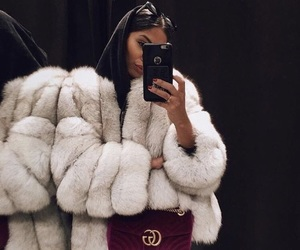 fashion, fur, and gucci image