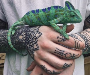 hipster, aesthetic, and tattoo image