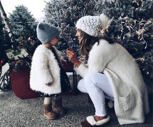 christmas, winter, and child image