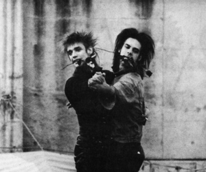 Blixa Bargeld, dance, and nick cave image