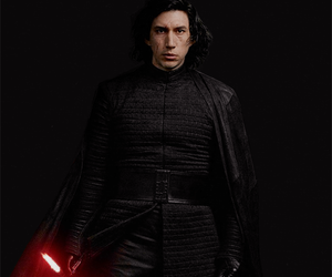 kylo ren, couple, and star wars image