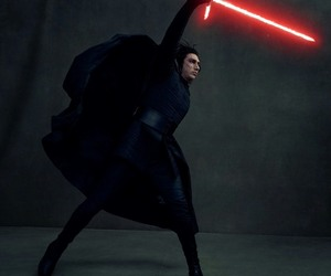 kylo ren, star wars, and adam driver image