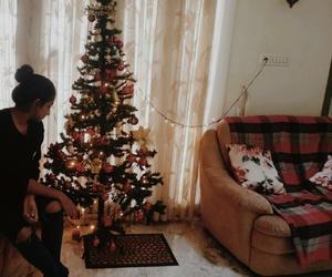 christmas, jingle bells, and lights image