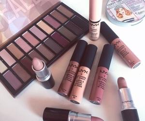 makeup, NYX, and mac image