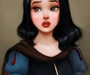snow white, princess, and art image