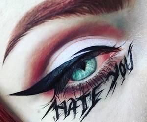 blogger, cat eye, and eyeliner image