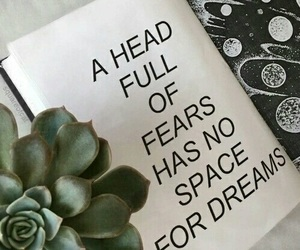 quotes, Dream, and fear image