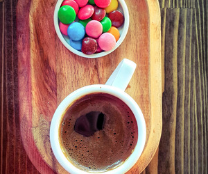 beautiful, candy, and coffee image