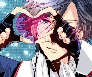 anime, heart, and anime boy image